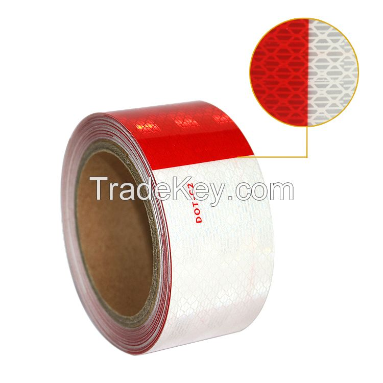 Anhui Hefei Gold Factory High Conspicuity dot-c2 Reflective Tapes for Traffic Signs