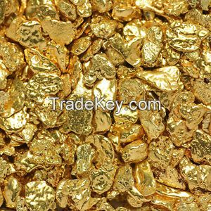 Kenyan Gold Nuggets - 350 Kilograms Metal Boxes Packaging