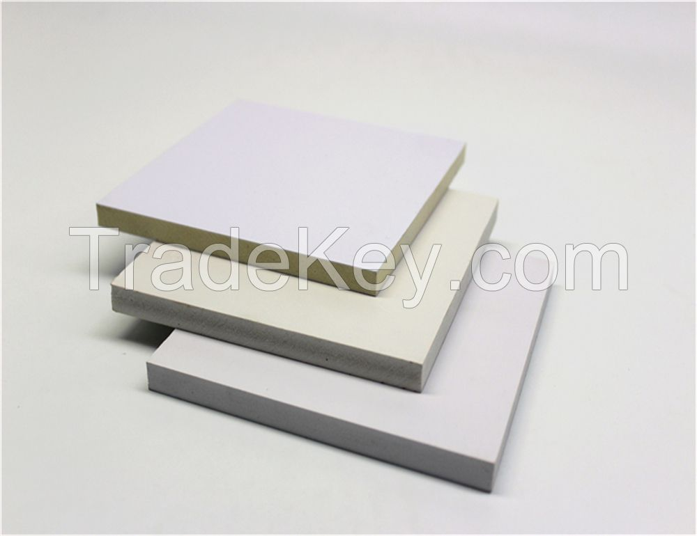 15mm/18mm white pvc celuka foam board for plastic formwork