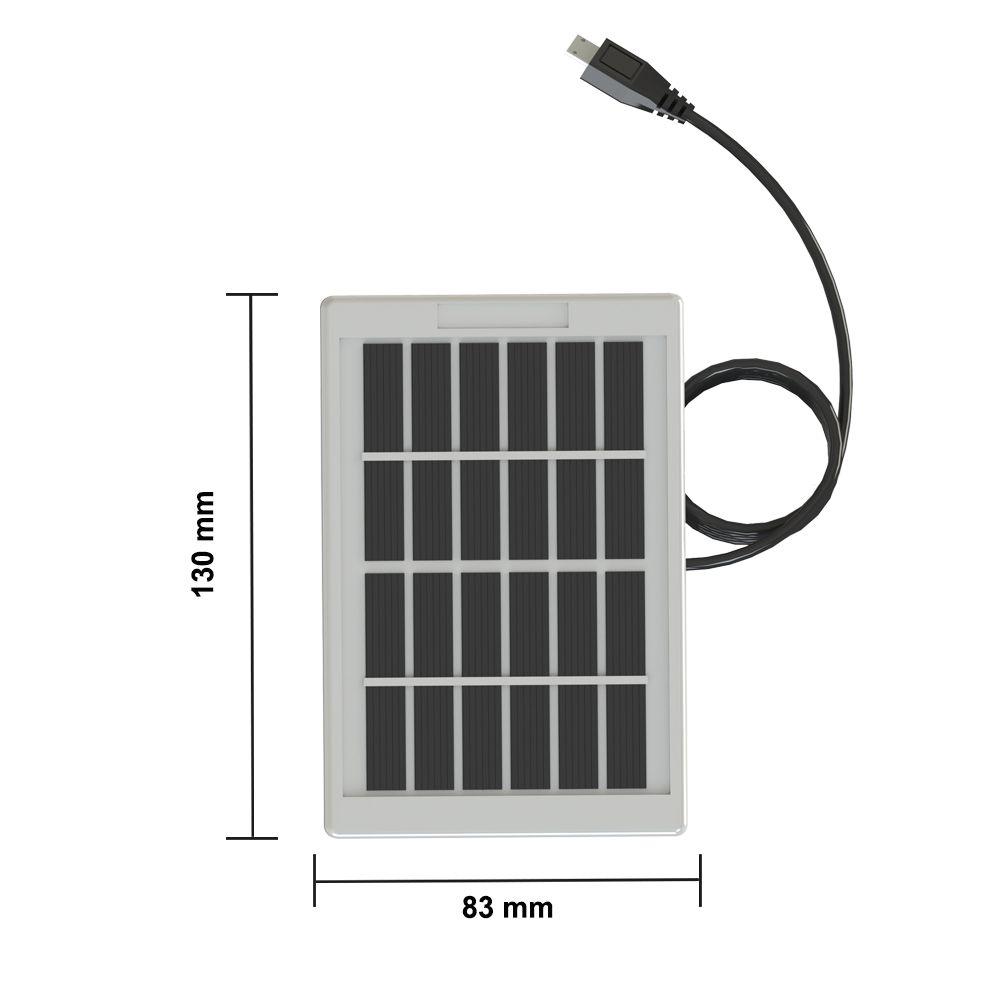 Solar LED solar bulb