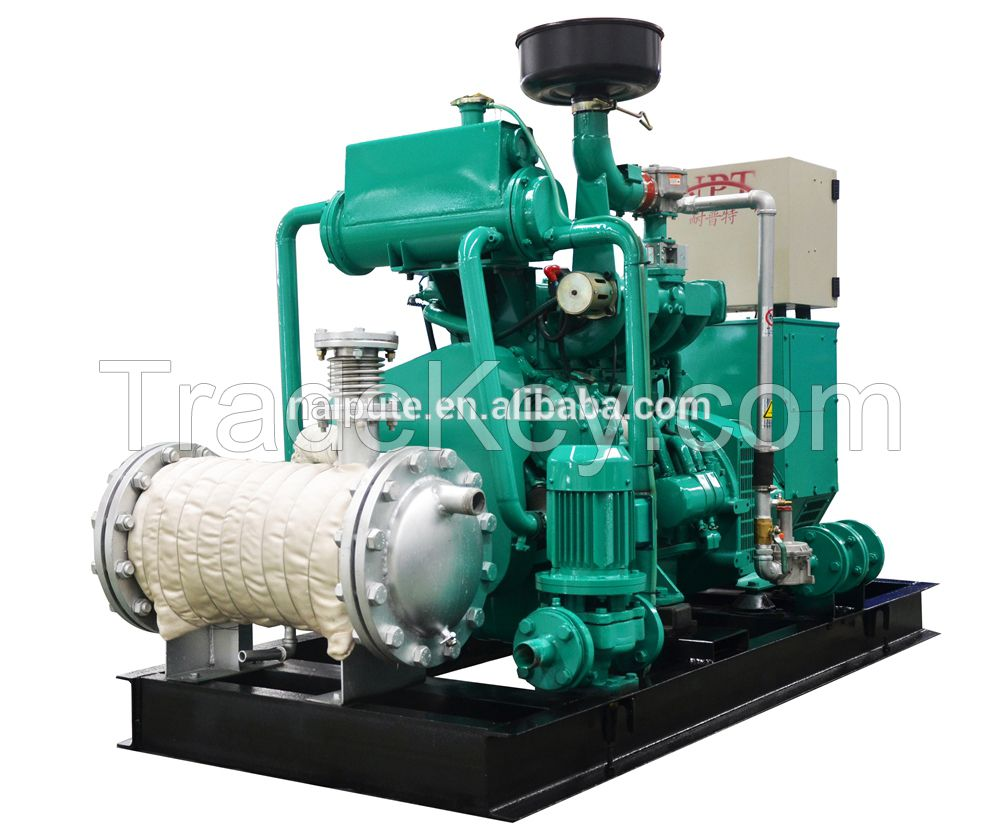 Biogas generator price, 120kW, engine
