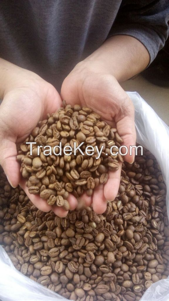 Roasted arabica beans coffee Premium