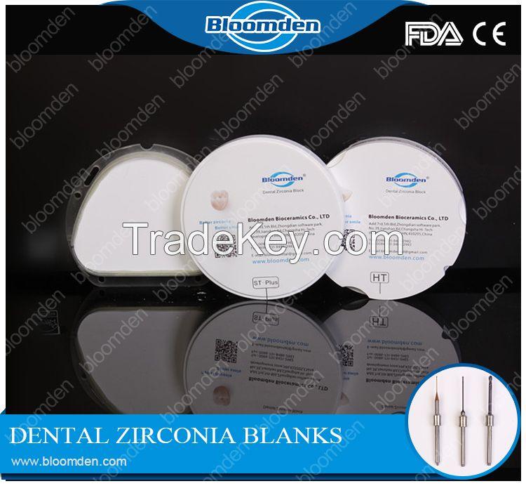 High translucent Amann Girrbach zirconia block