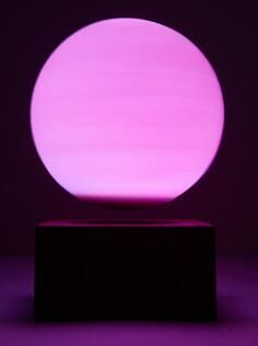 wireless rechargeable MAGNETIC floating levitate bottom moon ball lighting