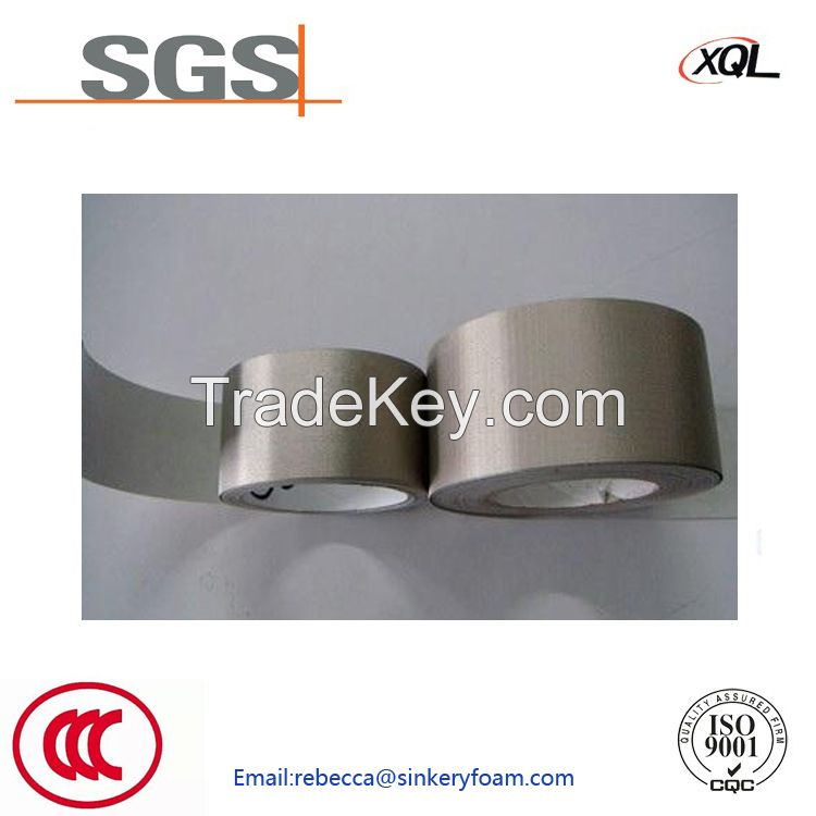 Conductive Cloth Fabric Tape For RFID blocking EMI Shielding