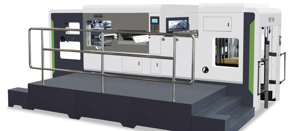 Automatic Die-cutting and Creasing Machine With