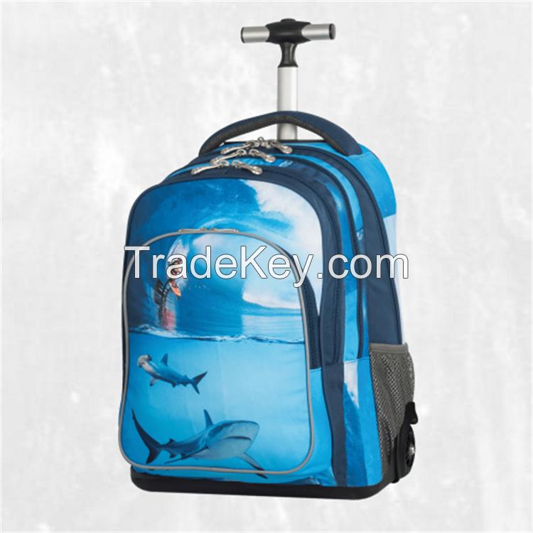 trolley backpack school bag