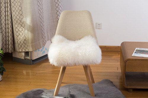 Newzealand Long Wool Chair Cushion Pad Car Seat Cover