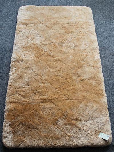 Genuine Sheepskin Bed Carpet Lambskin Bed Mattress