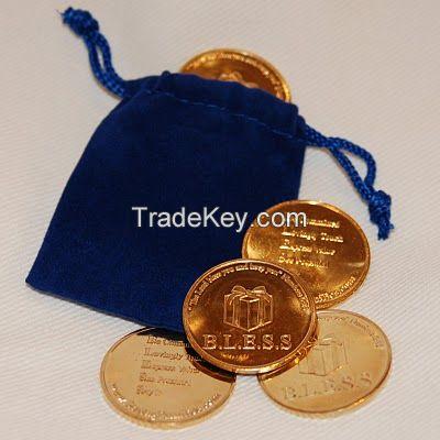 Coin Bag/ Velvet Drawstring Bag/ Cotton Pouch/ Party Favor Ba/ Muslin Bag/ Jewelry Pouch