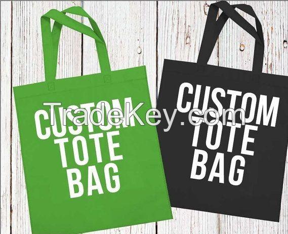 Cotton Shopping Bag/ Canvas Tote Bag/ Grocery Bag/ Calico Bag/ Promotional Bag