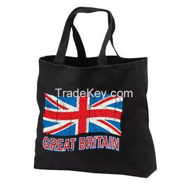 Canvas Tote Bag/ Cotton Grocery Bag/ Calico Bag/ Promotional Shopping Bag