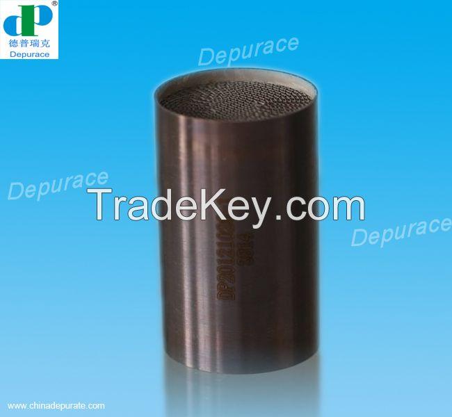 Metal honeycomb catalyst