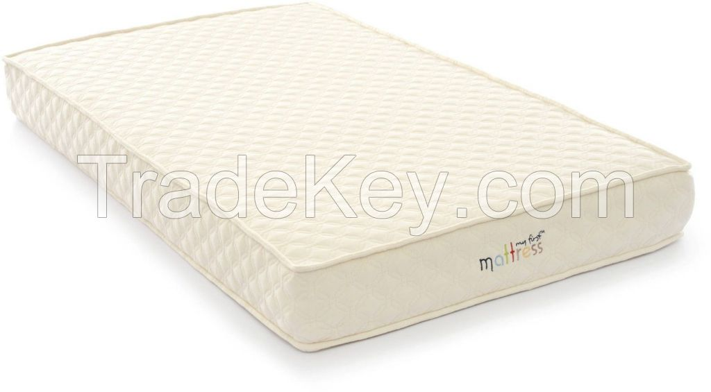 My First Crib Mattress With Waterproof Quilted Cover