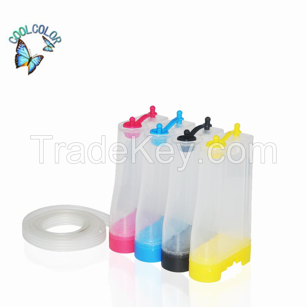 Factory Price Universal 4 Color ink tank For Continue ink supply system Made in China