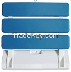 Wall Mounted Modem ABS Folding Shower Seat