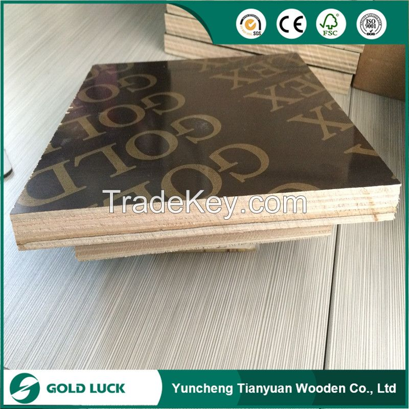 Finger Joint Core/Recycle Film Faced Plywood
