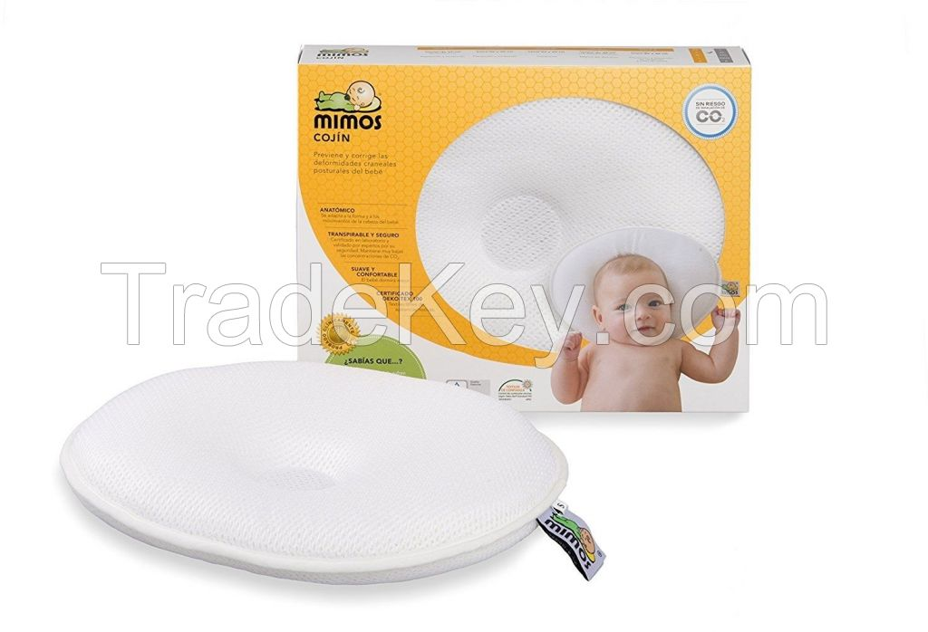 MIMOS Baby Pillow (SIZE-M) For Flat Head (Plagiocephaly) - Airflow Safe Medical