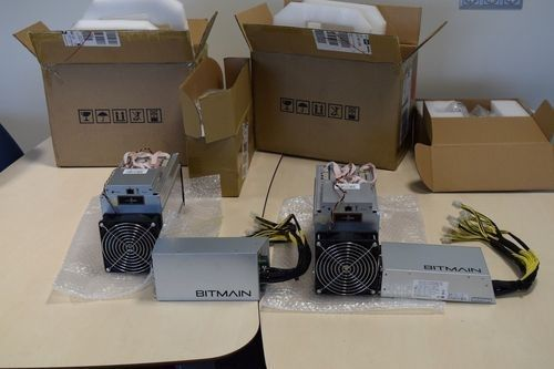 Brand New Bitmain Antminer Z9 Mini 10k Sol/S 300W Asic Miner with PSU Mining Machine