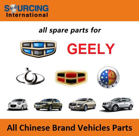 Geely Emgrand EC7 spare parts, Geely CK auto parts repuestos, Geely Panda spare parts