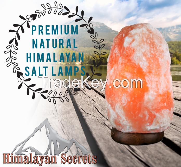 Premium Natural Himalayan Salt Lamp w/ Dimmer Cord 2-3 KG US Stock
