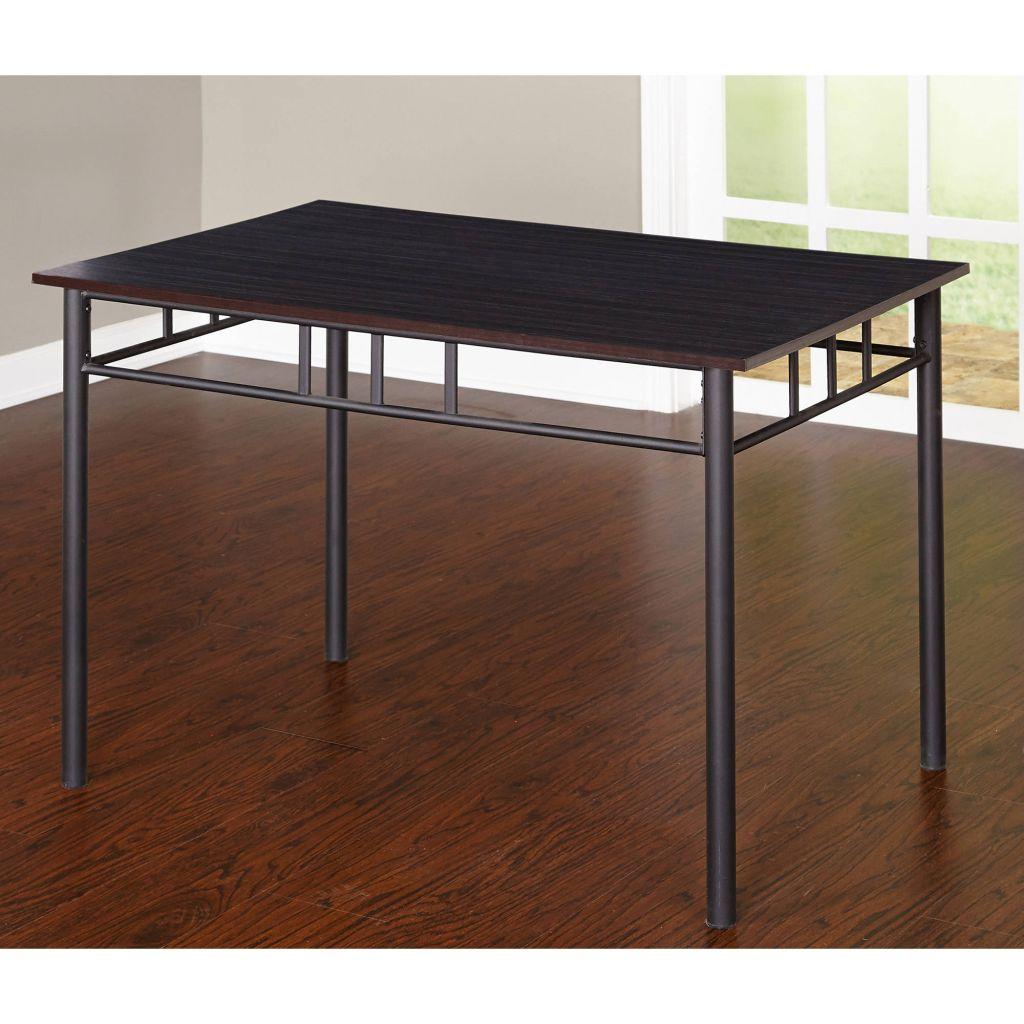 Liv 5-Piece Liv Dining Set, Black/Gray