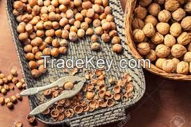 Almonds, Cashew Nuts, Pistachio Nuts,
