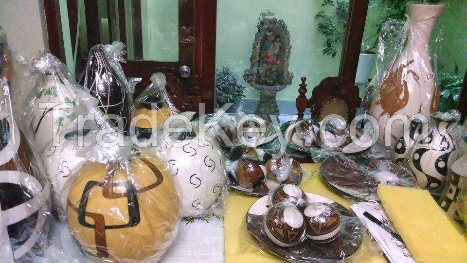 Decorative Vases handmade in Chulucanas Clay - Peruvian Handicrafs