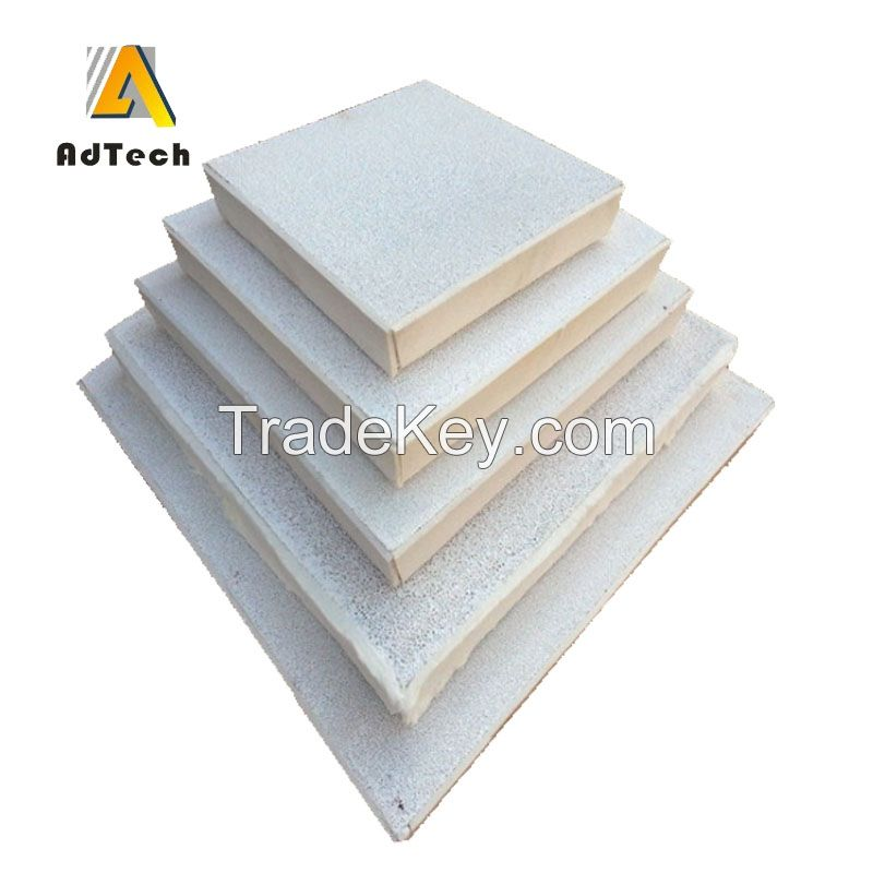 Heat resistant pure Alumina Ceramic Foam Filter for aluminium industry use