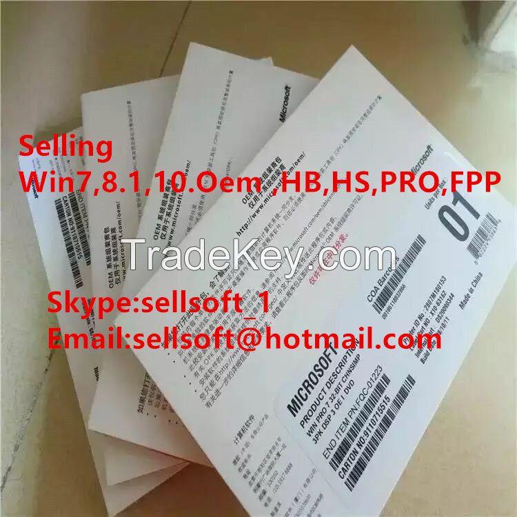 Windows 8.1 Coa, W 8.1 Pro Key, Win8.1 FPP Key, Win 8.1 OEM Key