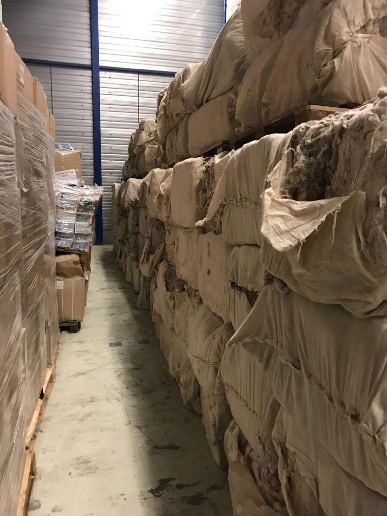 100% Cotton wast comber noil 49 Ton