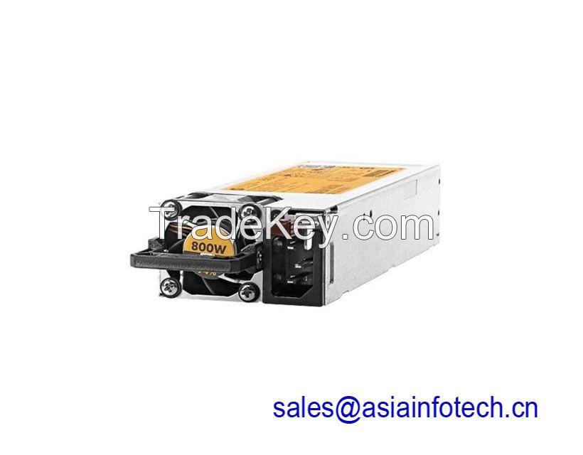HPE 720479-B21 754381-001 800W Flex Slot Platinum Hot Plug Power Supply Kit Gen9