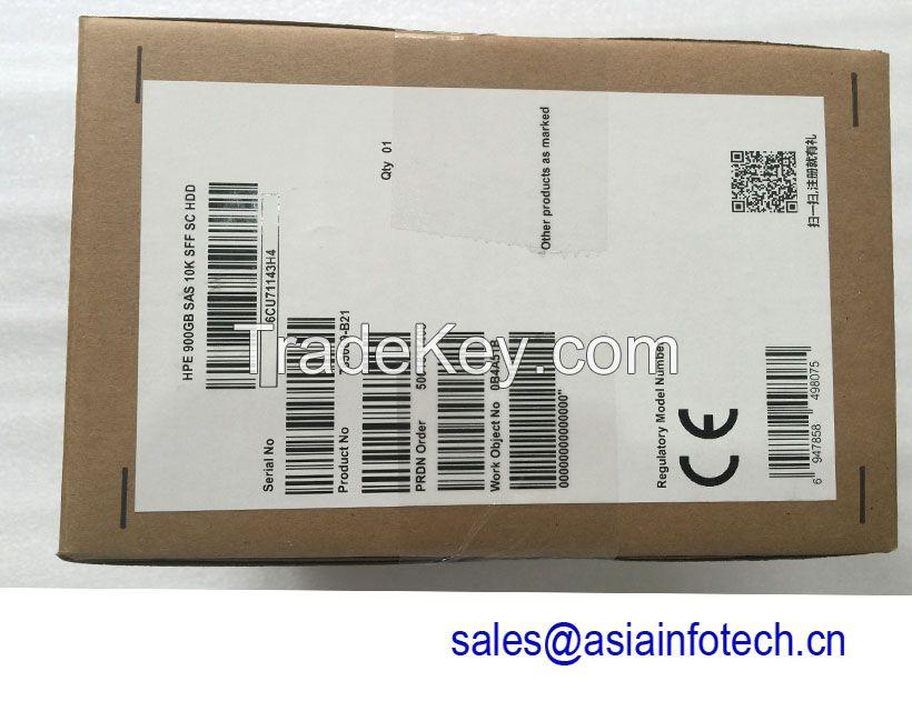 HPE 785069-B21 785411-001 900GB 12G SAS 10K rpm SFF (2.5-inch) SC Enterprise Hard Drive
