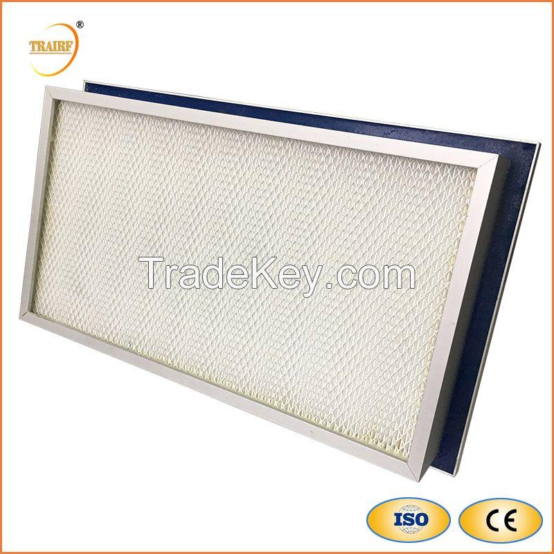 H13 Liquid Tank Gel Seal HEPA Air Filter for Clean-room HVAC System