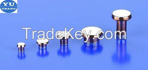 bimetal contacts alloy