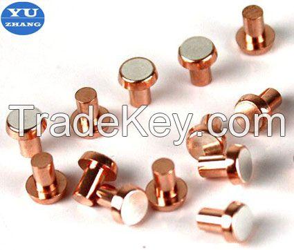 bimetal rivet contacts