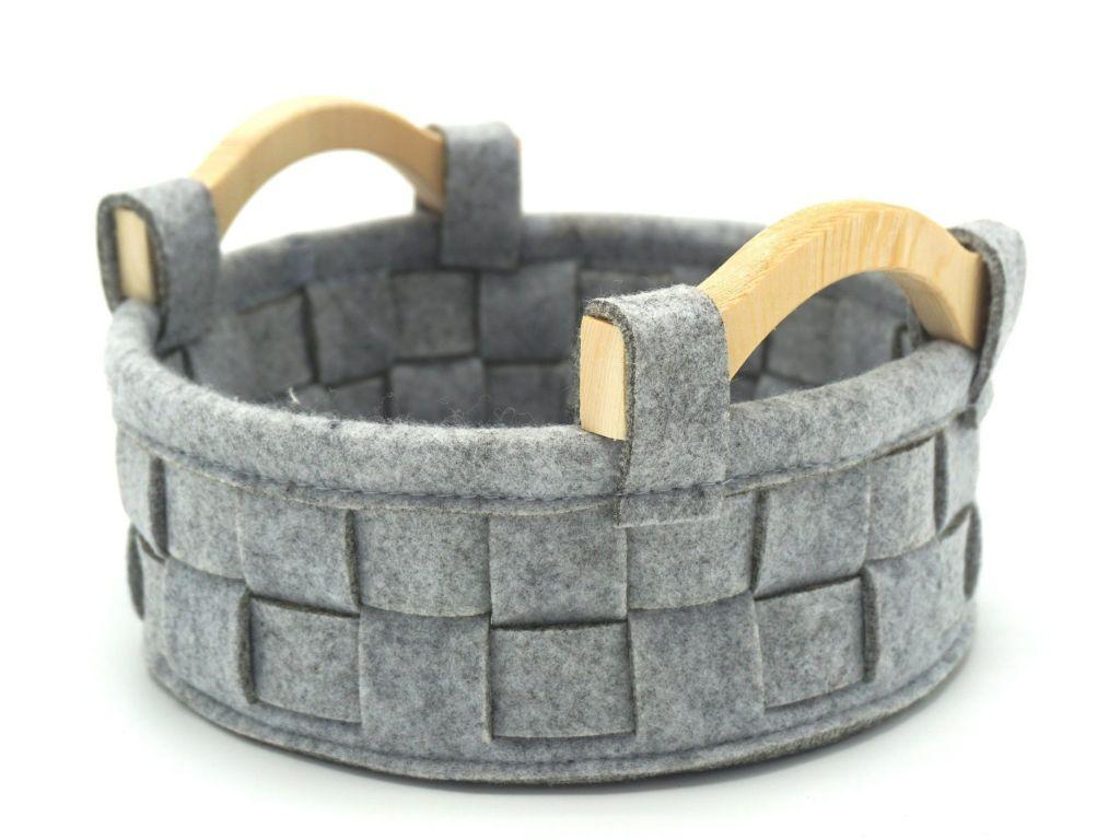 felt basket manufacture