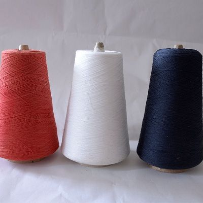 Poly cotton core spun sewing thread