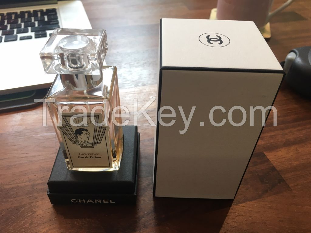 Luxury Cardboard cosmetic Perfume box with Lid