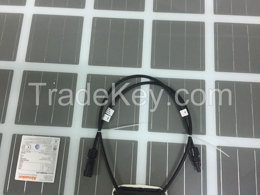 Non-opaque double-glazed monocrystalline silicon 60P each