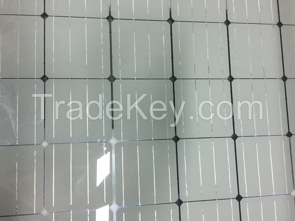 Opaque double-glazed monocrystalline silicon 60P each
