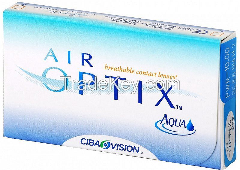 Air Optix Alcon contact lenses