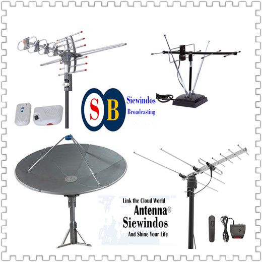 4 Port GPS Statellite Broadcasting Station Antenna Siewindos Comm