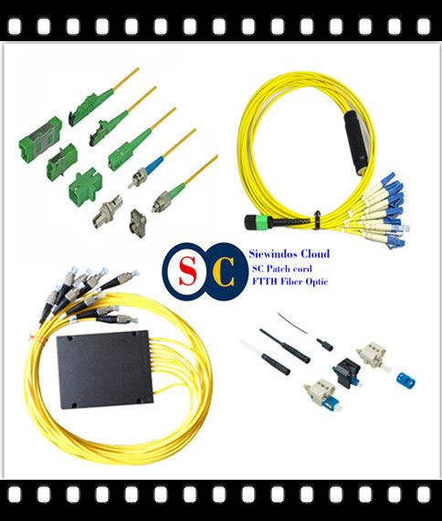 Sie windos Speed ADSS Cable Fibres Optical with Telecoms Assemblies Distribution