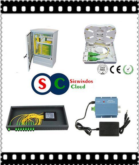 SC Fiber Optical Terminal Box Siewindos Cloud CATV Networking Communicaiton
