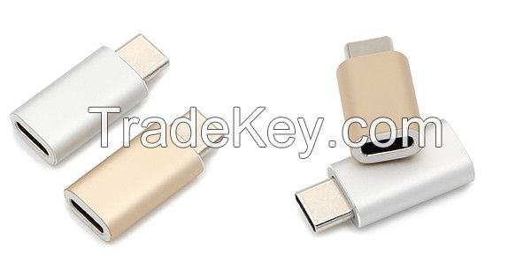 USB Type C Male to Type C Female Adapter