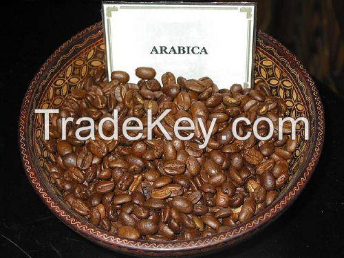 Premium Arabica Roasted Coffee Beans