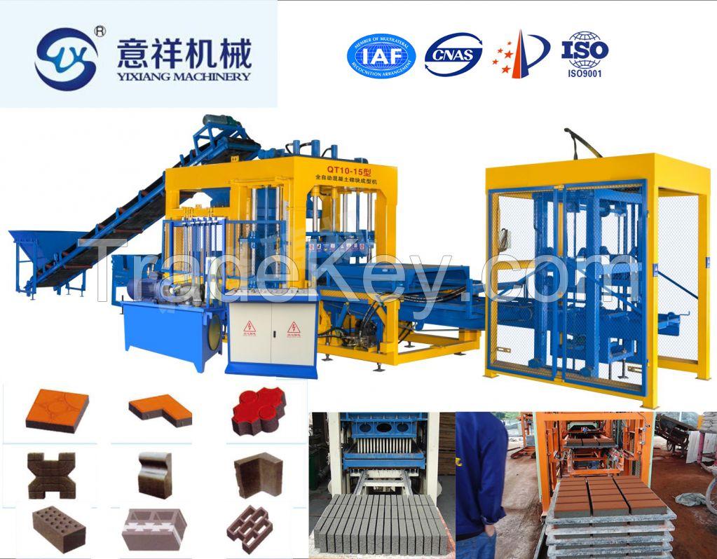 Top quality Manufacture price Multi-purpose hydraulic paving brick mak