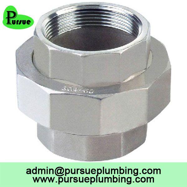 304 316 stainless steel female thread union