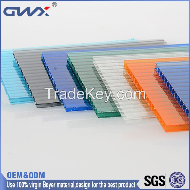 polycarbonate roofing sheet for green house polycarbonate multi-wall sheet